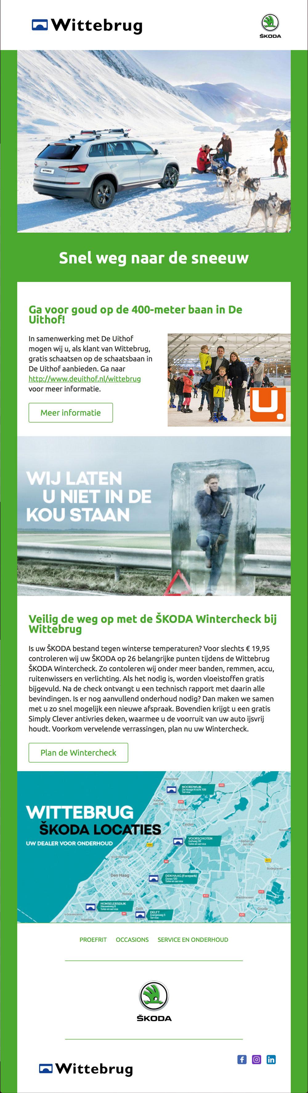 Wintercheck SKODA