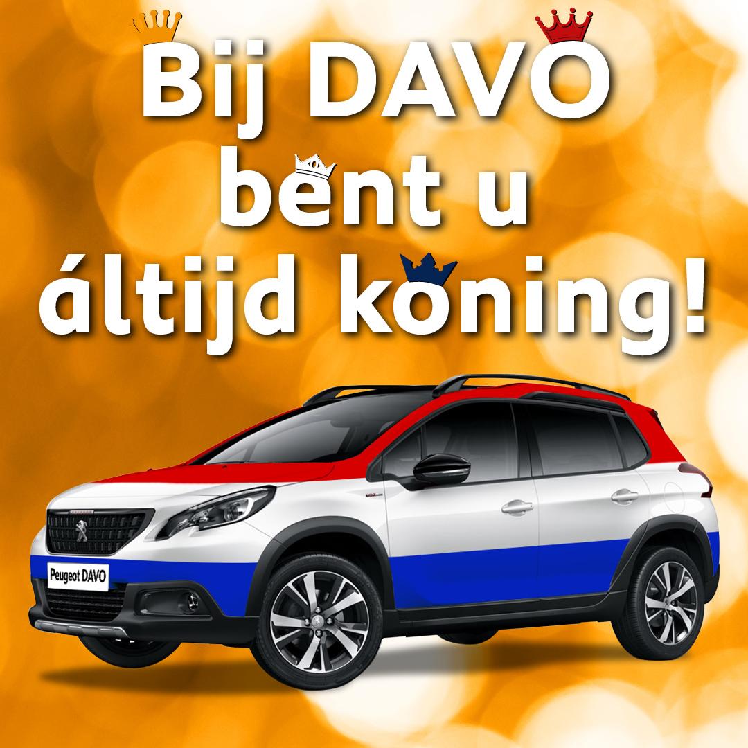 Koningsdag social Peugeot DAVO